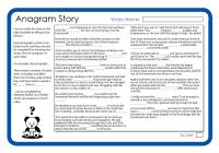 Anagram Story 2