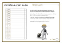 International Airport Codes 2