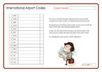 International Airport Codes 3