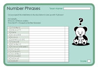 Number Phrases