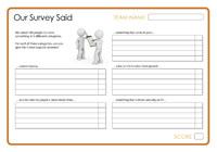 Our Survey Said 11 - December 2013