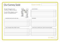 Our Survey Said 12 - January 2014