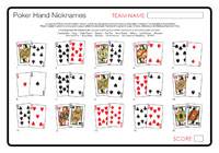 Poker pairs nicknames chinese poker card game online