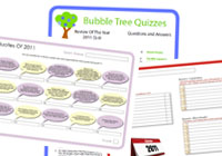 Review Of The Year 2011 Quiz