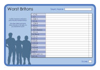 Worst Britons