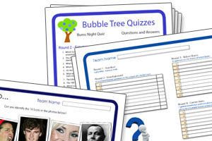Burns Night Quizzes