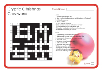 cryptic_christmas_crosswordjpg - Christmas Crossword Answers